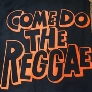 COME DO THE REGGAE BLACK & ORANGE